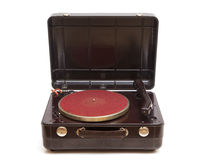 Old record player Royalty Free Stock Photography