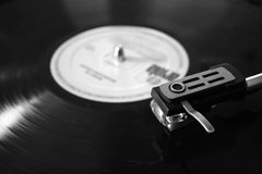 Old record player stock photography