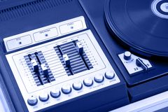 Old record-player Royalty Free Stock Images