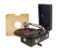 Old record player Stock Photos