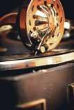 Old record player gramophone Royalty Free Stock Photos