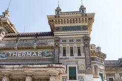 Old recovery city. Salsomaggiore Italy Stock Image