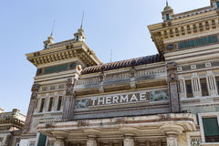 Old recovery city #5. Salsomaggiore Italy Royalty Free Stock Photo
