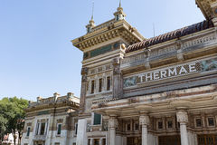 Old recovery city #3. Salsomaggiore Italy Stock Images