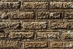 Old rectangular wall Royalty Free Stock Images