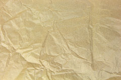 Old recycled blank crumpled paper Royalty Free Stock Image