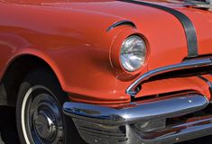 Old Red. Classic American Car royalty free stock photography