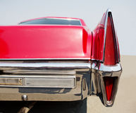 Old red American car Royalty Free Stock Photography