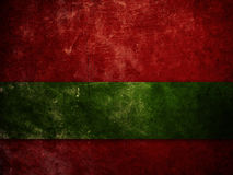 Old Red And Green Background Stock Photography