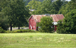 Old Red Barn Royalty Free Stock Photo