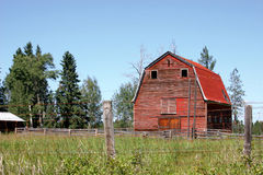 Old Red Barn Royalty Free Stock Photography