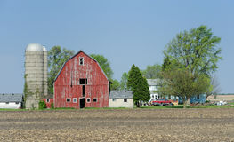 Old red barn Royalty Free Stock Image