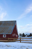 Old Red Barn Stock Image