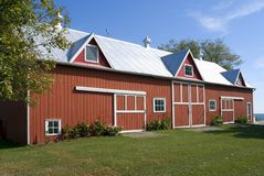 The Old Red Barn Royalty Free Stock Images