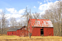 Old Red Barn Royalty Free Stock Photos