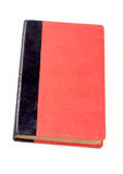 Old red and black book Stock Photo