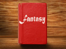 Old red book Royalty Free Stock Photo
