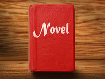 Old red book Royalty Free Stock Photography