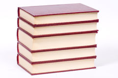 Old red books Stock Images