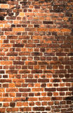 Old red brick background Royalty Free Stock Photos