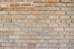 Old red red brick background Royalty Free Stock Images