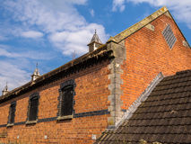 Old Red Brick Barn Stock Photography