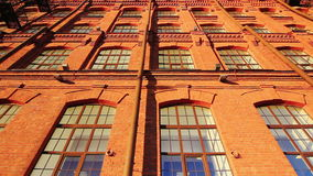 Old red brick building Royalty Free Stock Photography