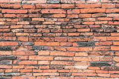Old red Brick dry Wall Texture background image. Grunge Red Stonewall Background. Old red Brick and dry Wall Texture background image. Grunge Red Stonewall royalty free stock images