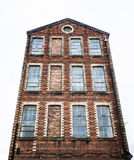 Old Red Brick Factory Royalty Free Stock Photos