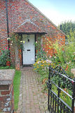 Old red brick kent country cottage Royalty Free Stock Image