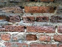 Old red brick s wall Stock Photography