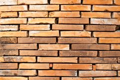 Old red brick wall Stock Photos