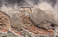 Old Red Brick Wall. Stock Images