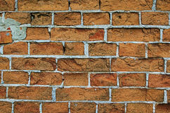 Old red brick wall. Stock Photography