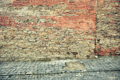 Free Old Red Brick Wall Royalty Free Stock Photo - 96851175