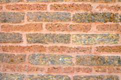 Old Red brick wall abstract background Royalty Free Stock Images