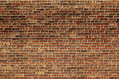 The old red brick wall Royalty Free Stock Images
