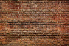 The old red brick wall Stock Photo