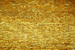Old red brick wall background with copy space Stock Image