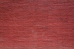 Old red brick wall background Royalty Free Stock Photos