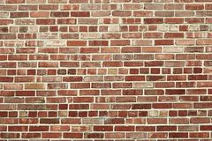 Old red brick wall background texture stock images