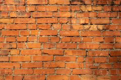 Old red brick wall background texture stock photos