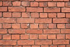Old red brick wall background texture royalty free stock photo