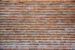 Old red brick wall Background. Of old vintage brick wall stock images