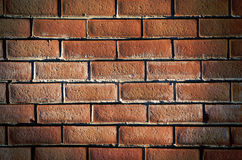 Old red brick wall.England, Europe. Stock Photo