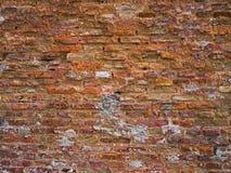 Old red brick wall. Horizontal shot Royalty Free Stock Photo