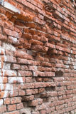 Old red brick wall. Outdoor Stock Photography
