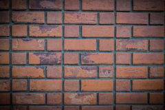 Old Red brick wall pattern Stock Images