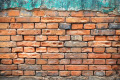 Old red brick wall pattern Royalty Free Stock Photos