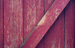 Old red brick wall. With shabby stucco beoy Royalty Free Stock Image